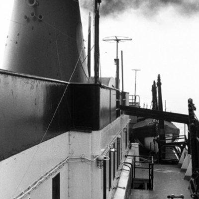 Aboard the Midland II, Lake Michigan