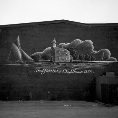 Wall Sign, Norwalk, CT