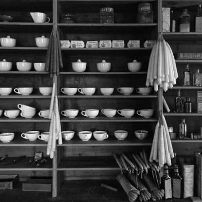 Cups and Candles, Appomattox Courthouse, Va